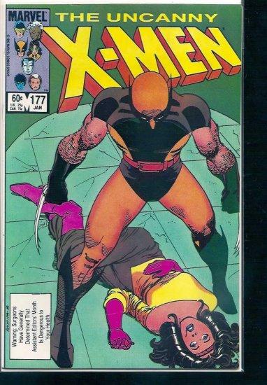 X-MEN # 177, 7.5 VF -