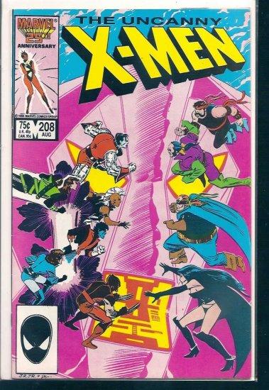 X-MEN  # 208, 7.0 FN/VF