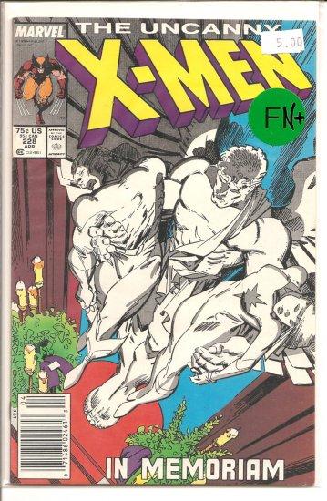 X-Men # 228, 6.5 FN +
