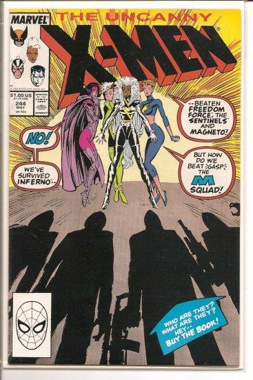 X-Men # 244, 7.0 FN/VF