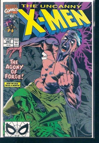 X-MEN  # 263, 8.0 VF