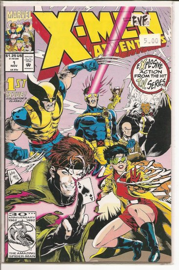 X-Men Adventures # 1, 7.0 FN/VF