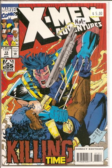 X-Men Adventures # 13, 9.2 NM -