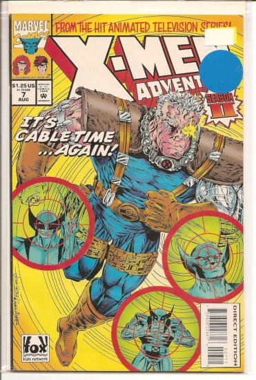 X-Men Adventures II # 7, 8.0 VF