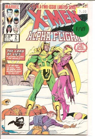 X-Men Alpha Flight # 2, 7.0 FN/VF
