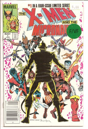 X-Men and The Micronauts # 1, 7.0 FN/VF