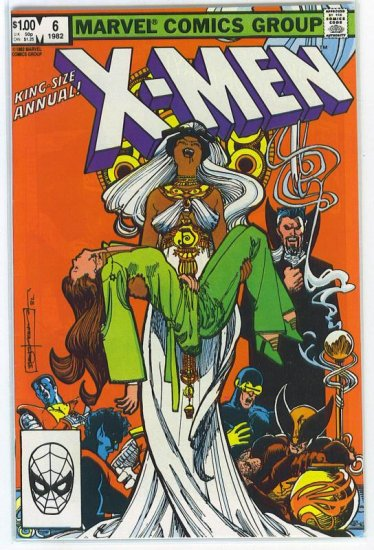 X-Men Annual # 6, 9.0 VF/NM
