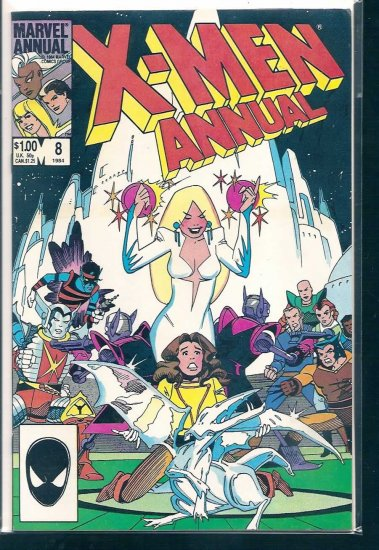 X-MEN ANNUAL # 8, 8.0 VF