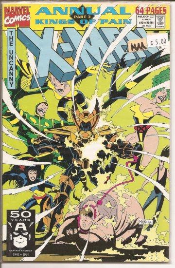 X-Men Annual # 15, 9.4 NM