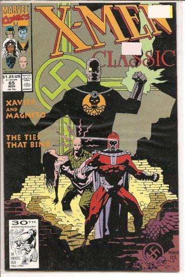 X-Men Classic # 65, 8.5 VF +