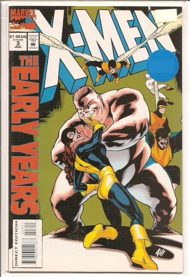X-Men the Early Years # 3, 8.0 VF