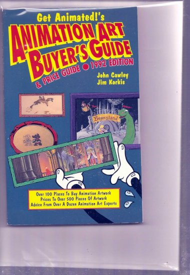 ANIMATION ART BUYER'S GUIDE 1992 # 1, 7.5 VF -
