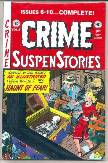 CRIME SUSPENSTORIES # 2, 9.0 VF/NM