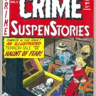 CRIME SUSPENSTORIES # 2, 9.0 VF/NM