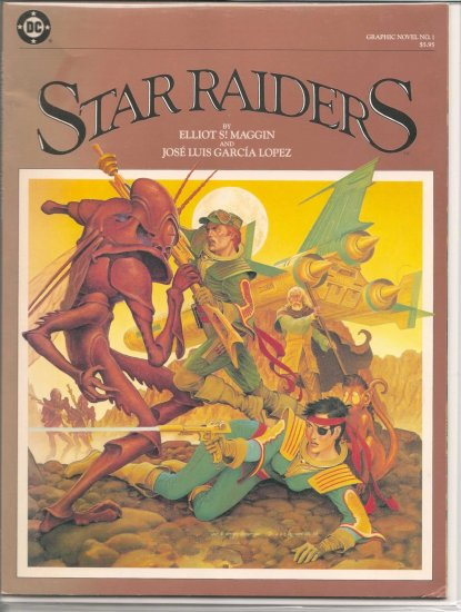 DC GRAPHIC NOVEL STAR RAIDERS # 1, 6.0 FN