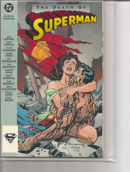 DEATH OF SUPERMAN # 1, 9.0 VF/NM
