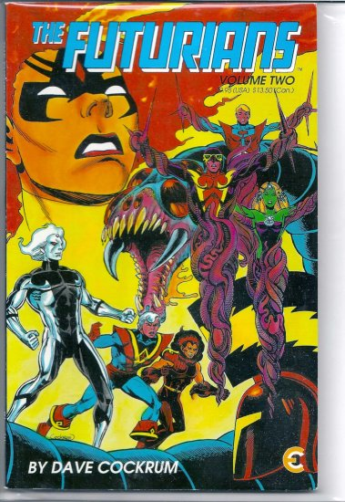FUTURIANS VOL. TWO # 2, 7.5 VF -
