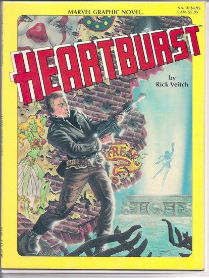 HEARTBURST # 10, 8.5 VF +
