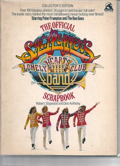 OFFICIAL SGT. PEPPERS LONELY HEARTS CLUB BAND SCRAPBOOK # 1, 4.5 VG +