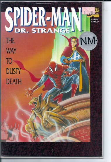 SPIDER-MAN DR. STRANGE # 1, 9.2 NM -