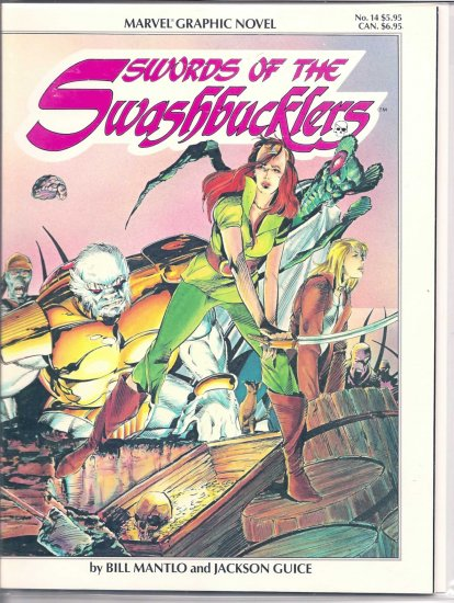SWORDS OF THE SWASHBUCKLERS # 14, 7.0 FN/VF