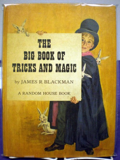 The Big Book Of Tricks And Magic # 1, 4.5 VG +