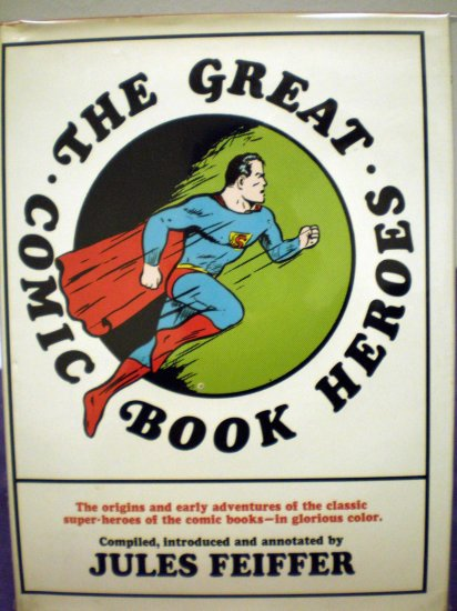 The Great Comic Book Heroes # 1, 7.0 FN/VF