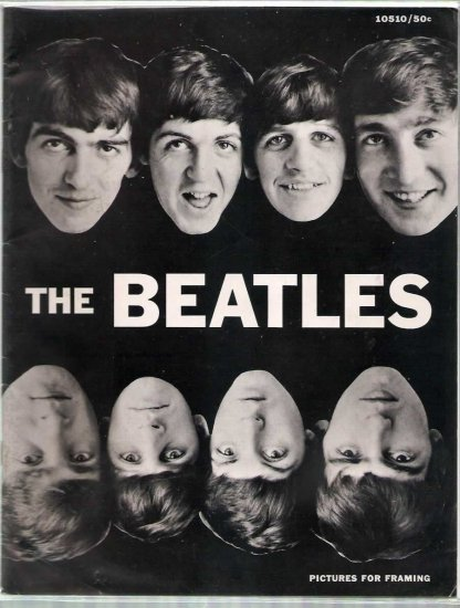 BEATLES PICTURES FOR FRAMING # 1, 4.5 VG +