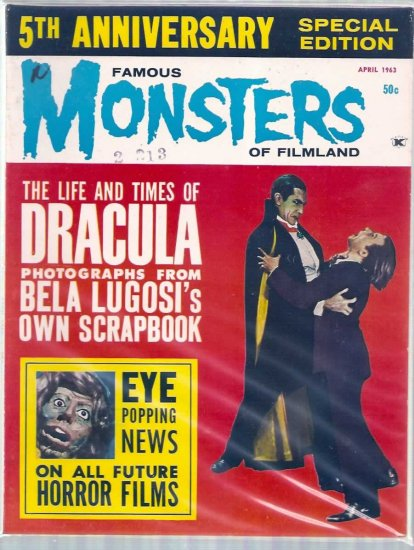 FAMOUS MONSTERS OF FILMLAND # 22, 6.5 FN +