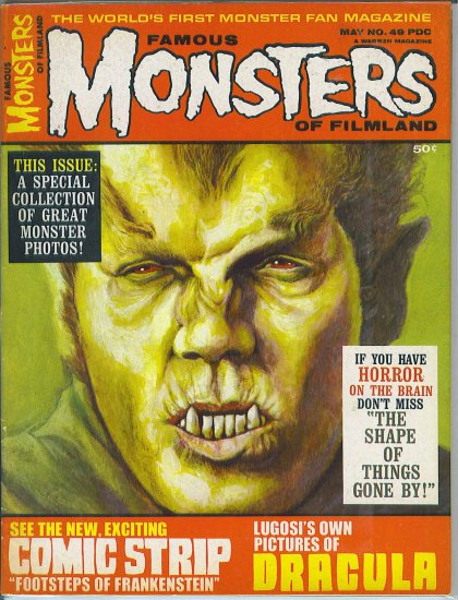 Famous Monsters Of Filmland # 49, 6.0 FN