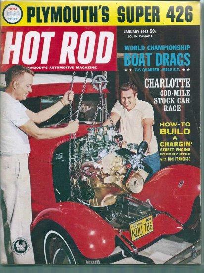 HOT ROD 1963 LOT # 1, 4.5 VG +