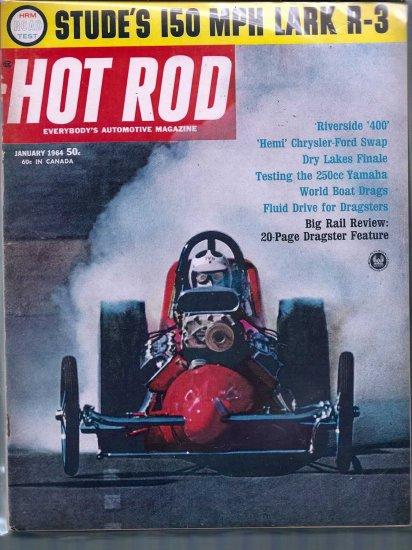 HOT ROD 1964 LOT # 1, 4.0 VG