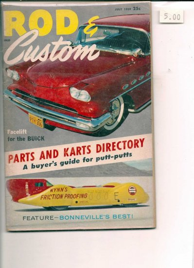 July 1959 Rod & Custom, 2.0 GD