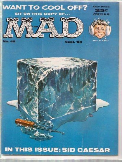 MAD # 49, 4.5 VG +
