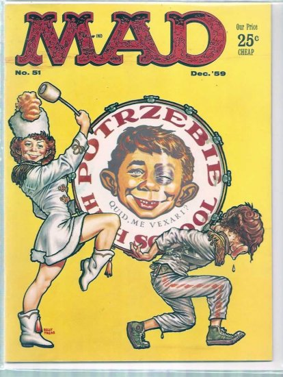MAD # 51, 5.0 VG/FN