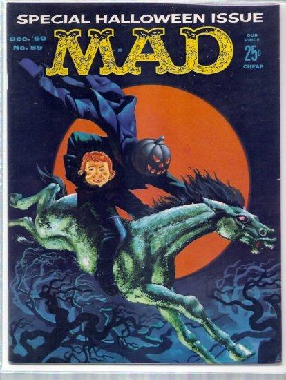 MAD # 59, 4.5 VG +