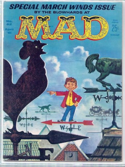 MAD # 62, 7.0 FN/VF