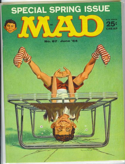 Mad # 87, 4.5 VG +