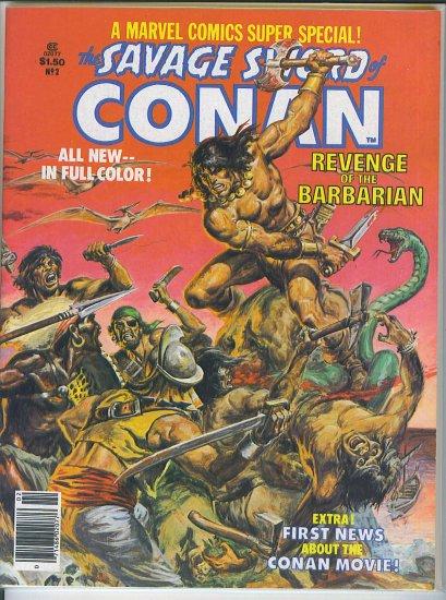 Marvel Comics Super Special Conan # 2, 8.0 VF