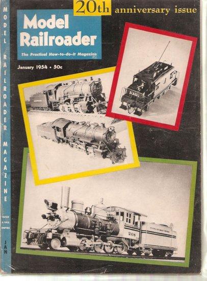 MODEL RAILROADER MAGAZINE LOT OF 11 # 1, 3.0 GD/VG