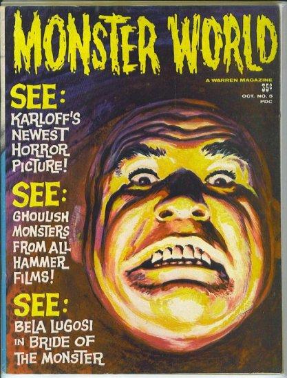 Monster World # 5, 4.5 VG +