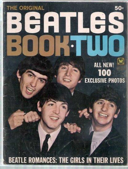 ORIGINAL BEATLES BOOK TWO # 2, 3.5 VG -