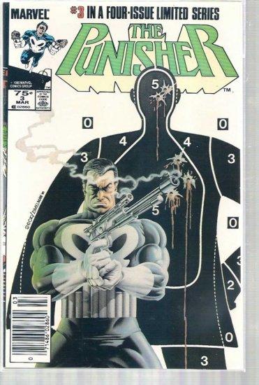 Punisher # 3, 9.0 VF/NM