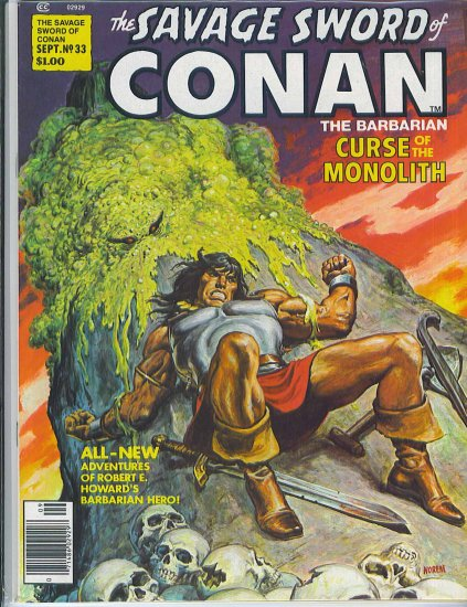 Savage Sword Of Conan # 33, 7.0 FN/VF