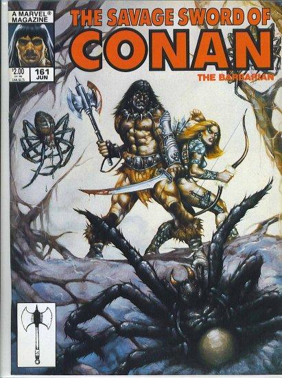 Savage Sword Of Conan # 161, 9.2 NM -