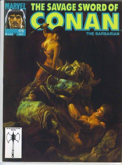 Savage Sword Of Conan # 175, 6.5 FN +