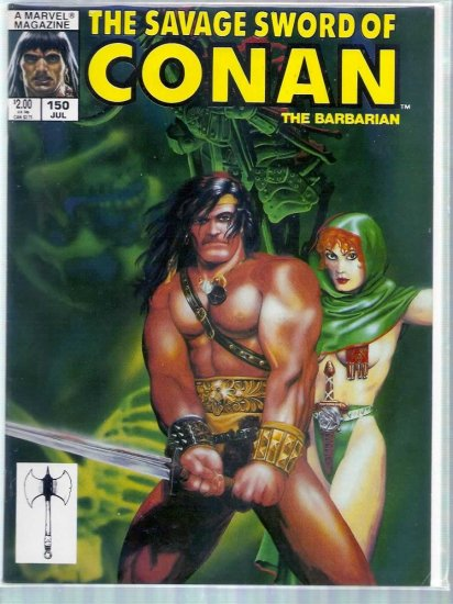 SAVAGE SWORD OF CONAN THE BARBARIAN # 150, 6.0 FN