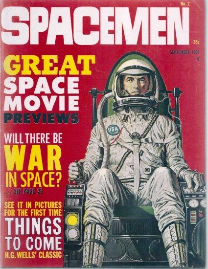 SPACEMEN # 2, 4.5 VG +