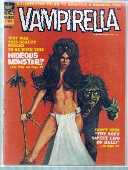 VAMPIRELLA # 10, 4.0 VG