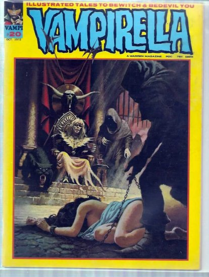 VAMPIRELLA # 20, 4.0 VG